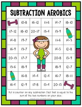 Subtraction Aerobics