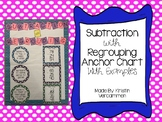 Subtraction Anchor Chart - With and Without Regrouping Anchor Chart