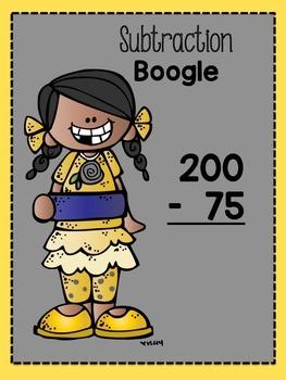 Subtraction BOOGLE