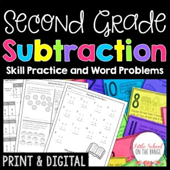 Subtraction Print and Go Unit
