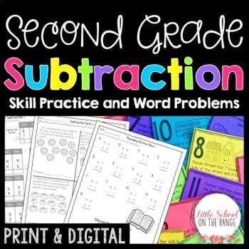 Subtraction Print and Go Unit