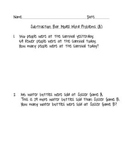 Comparing Subtraction Bar Model Word Problem Practice - Math in Focus 2nd Grade