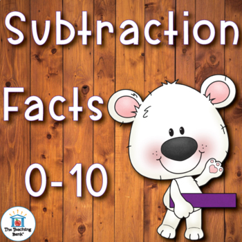 Subtraction Basic Facts 0-10