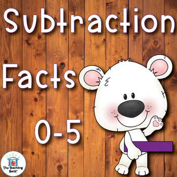 Subtraction Basic Facts 0-5