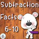 Subtraction Basic Facts 6-10