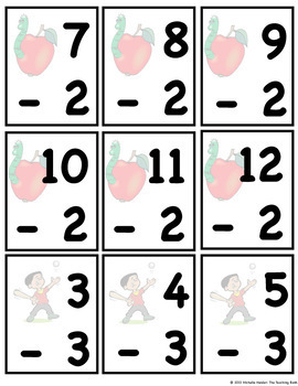Subtraction Basic Facts Mastery Unit