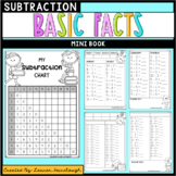Subtraction Basic Facts Mini Book