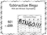 Subtraction Bingo!