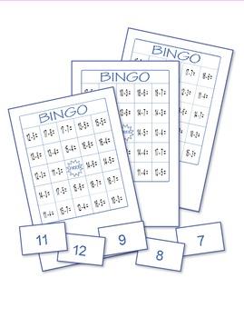 Subtraction Bingo 1