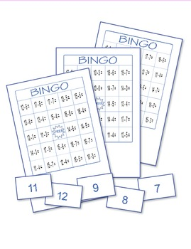 Subtraction Bingo 1