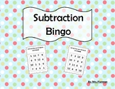 Subtraction Bingo Differences 0-12