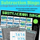Subtraction Bingo Google Classroom
