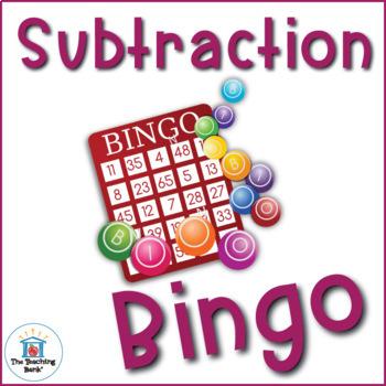 Subtraction Basic Facts Bingo Game