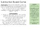 Subtraction Board Game Facts to 10