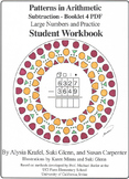 Subtraction:  Booklet 4  - Large Numbers and Practice Student Workbook