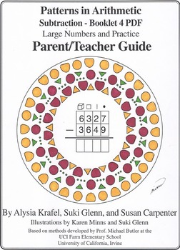 Subtraction:  Booklet 4  - Large Numbers and Practice - Teacher Guide