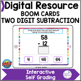 Subtraction No Regrouping Boom Cards™