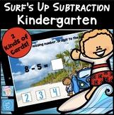 Subtraction Boom Cards for Kindergarten FREE