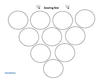 Subtraction Bowling Mat