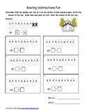 Subtraction Bowling Pins
