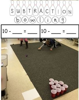 Subtraction Bowling Sheet