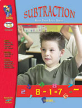 Subtraction Practice: Build Their Skills Workbook Grades 1-3