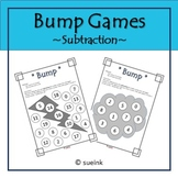 Subtraction Bump Game FREEBIE!