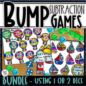Subtraction Bump Games