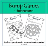 Subtraction Bump Games