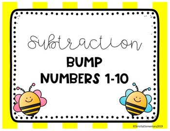 Subtraction Bump Numbers 1-10