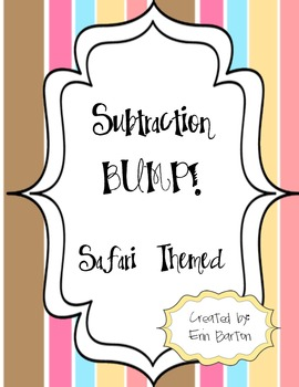 Subtraction Bump - Safari Themed