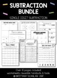 Subtraction Bundle / single-digit subtraction