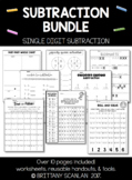 Subtraction Bundle / single-digit subtraction