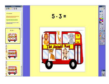 Subtraction Bus Flipchat
