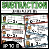 MATH CENTER SUBTRACTION