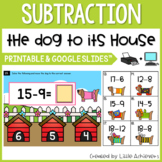 Subtraction Center First Grade - Subtraction With 20 Task Cards