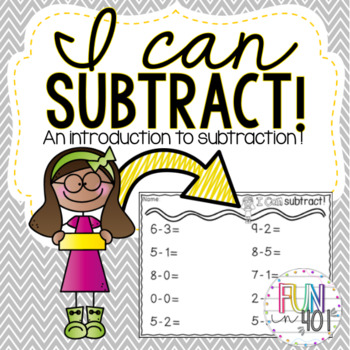 Common Core Subtraction Centers and Worksheets