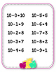 Subtraction Charts. Minus. Tables 1-10. Subtract. Posters