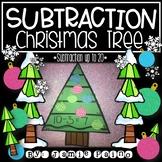 Subtraction Christmas Tree Craft
