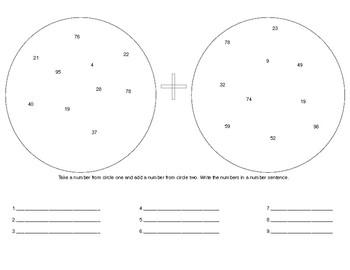 Addition Circles