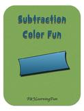 Subtraction Color Fun