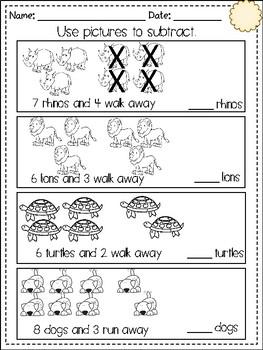 Subtraction Concepts!