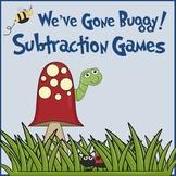 Subtraction Concepts Math Centers (Go Math! / Common Core aligned)