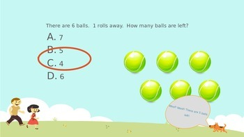 Subtraction Concepts Review Game