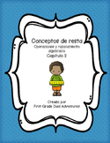 Subtraction Concepts Chapter 2 (Spanish Practice Worksheets)