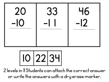 Subtraction Concepts (Special Education Math Unit)