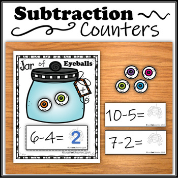 Subtraction Counters – Jar of Eyeballs