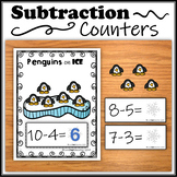 Subtraction Counters – Penguins on Ice