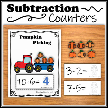 Subtraction Counters – Pumpkin Picking
