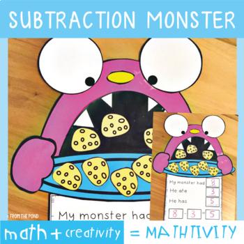 Subtraction Craft Activity